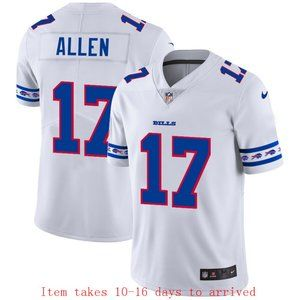 Buffalo Bills #17 Josh Allen Jersey Team Logo